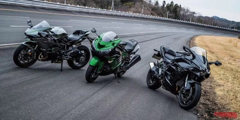 Kawasaki三雄大比拼,H2、H2 SX、ZX-14加速谁快?