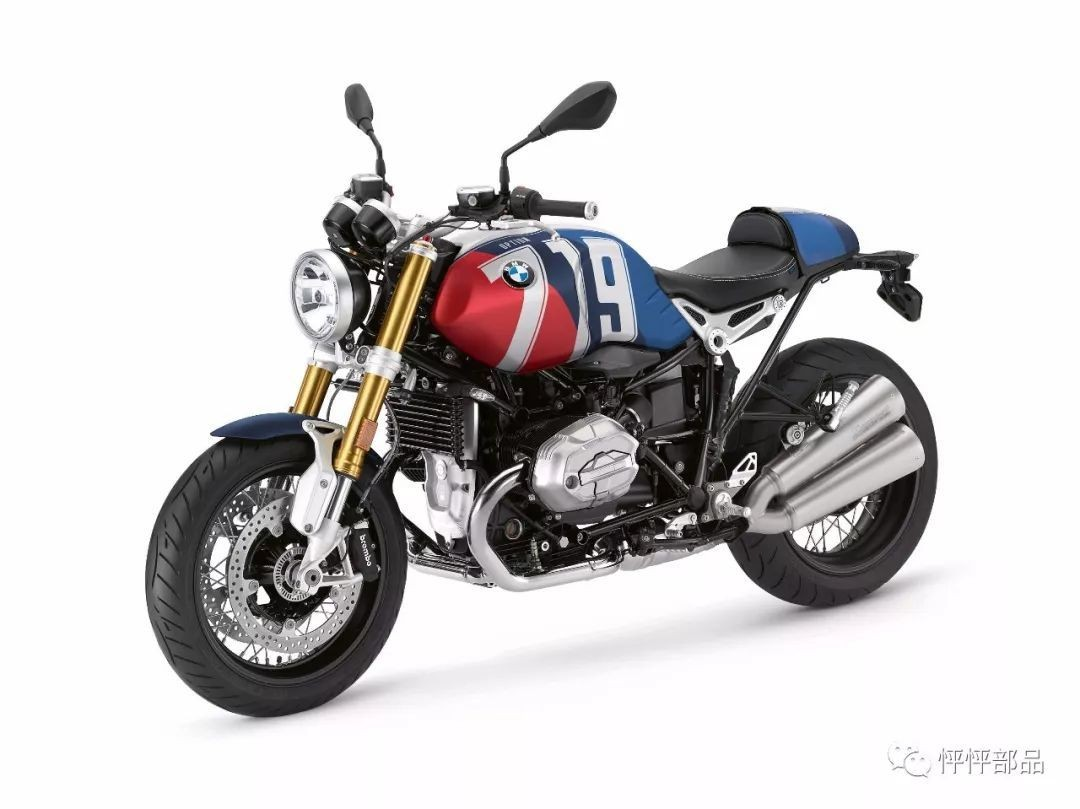 2019 BMW R NineT Option 719 高端配色方案