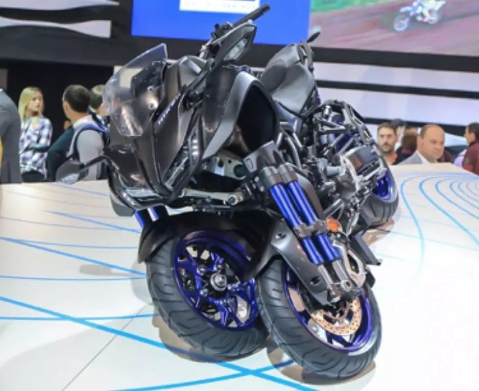 雅马哈将推出小排量NIKEN倒三轮摩托车!