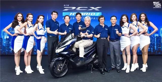 两万元 泰国本田公布PCX混动版售价