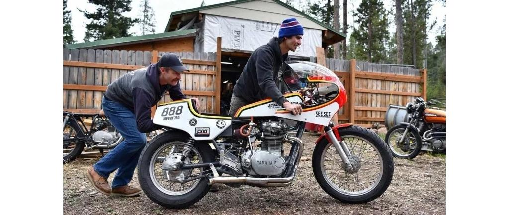 什么?!用伏特加做竞速燃料!?这辆摩托靠酒跑!!!