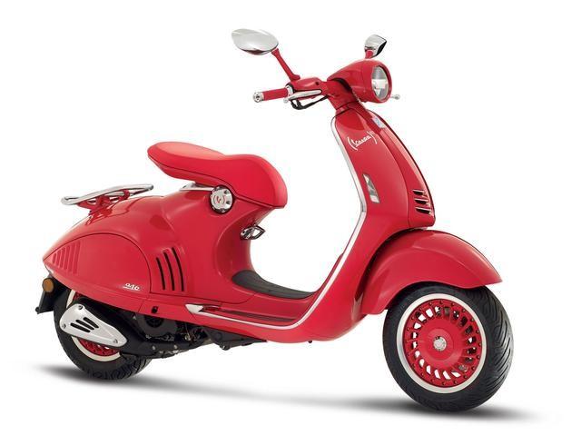 Vespa推出三款限量踏板 946(RED)来头不小