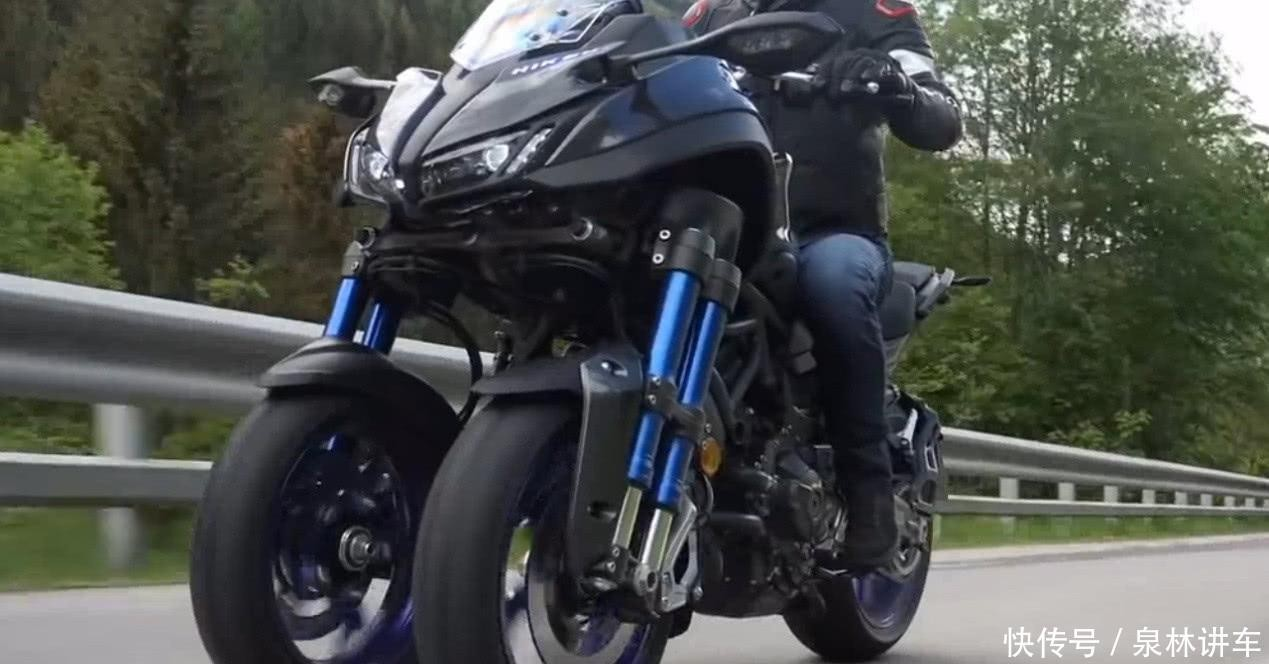 日本发明世界第一摩托车,号称永不翻车,若骑翻可获赔600万