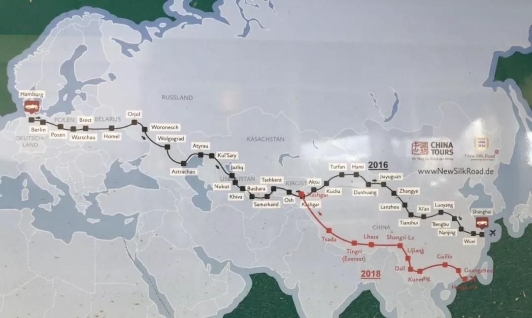 牛逼了!84岁老司机开着古董车从德国穿越到了中国!