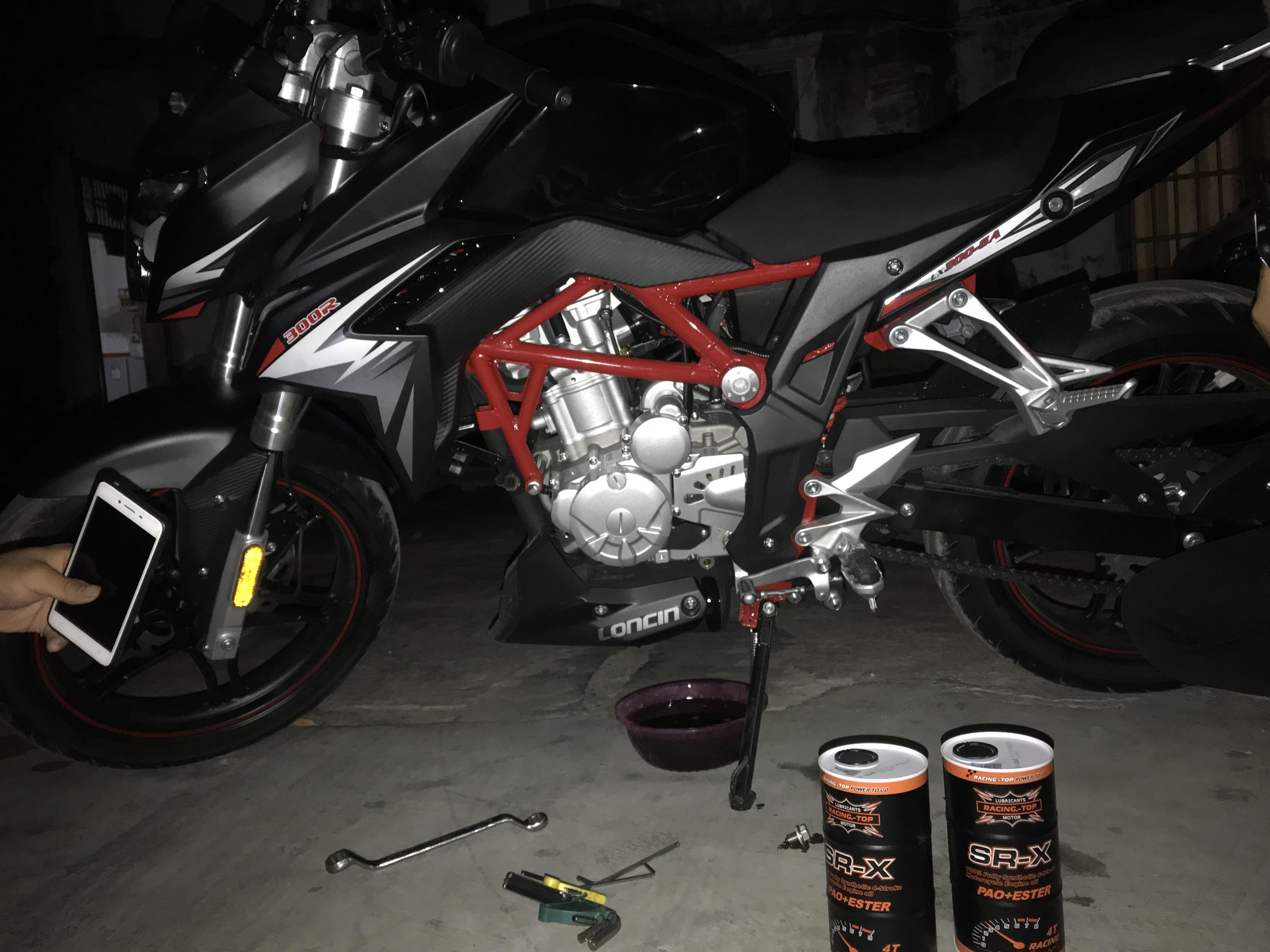 摩托车冬季保养