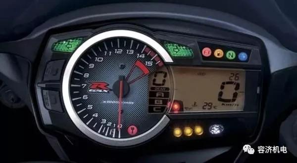 盘点:摩托车仪表里藏着多少你不知道的秘密!