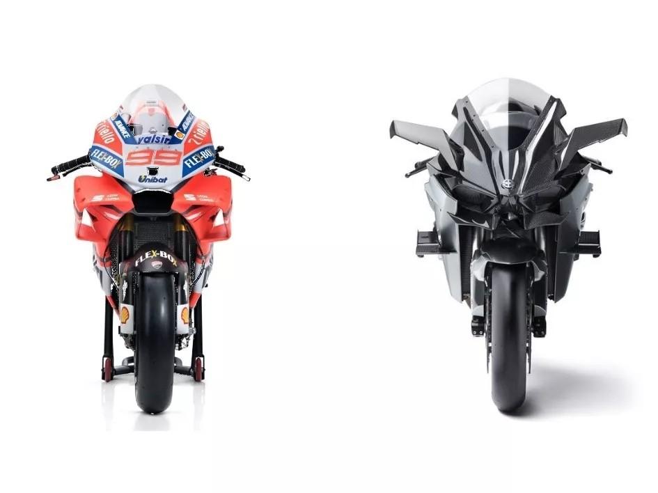 谁更快 #MotoGP仍是价格72万+的川崎增压怪兽H2R?
