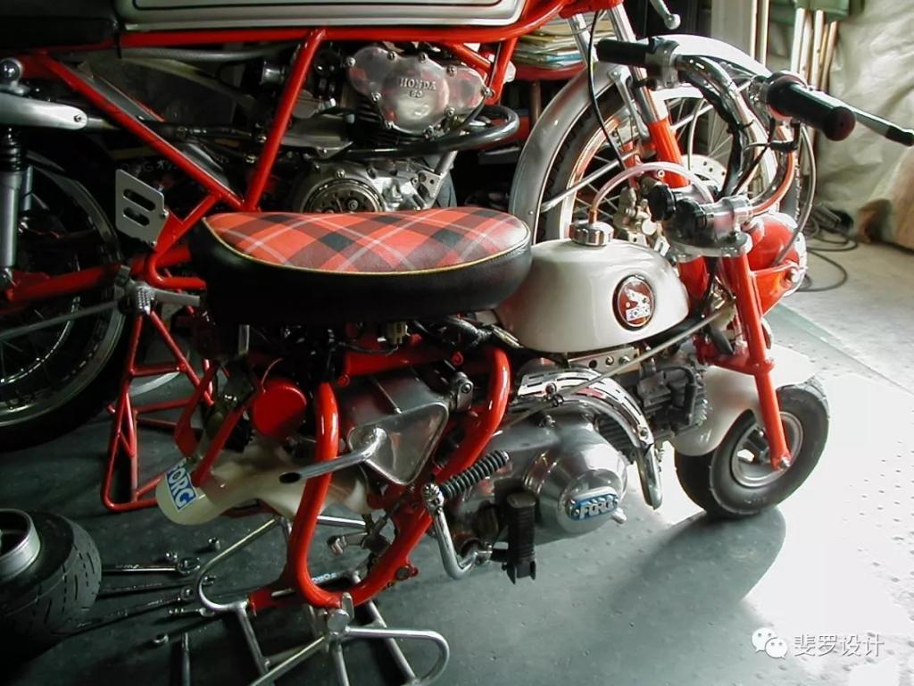 自己动手打造1967年本田MONKEY Z50M