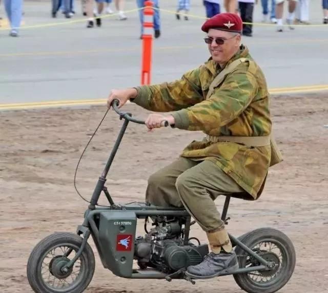 别看这摩托小,却参加二战了!