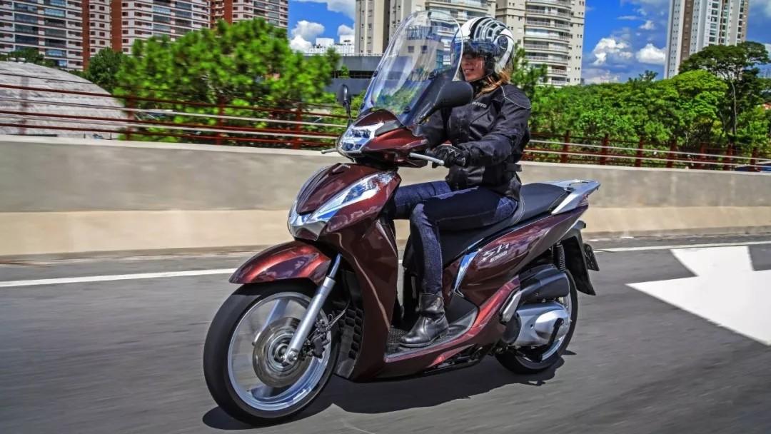 解析本田300cc水冷畅销大踏板——SH300i