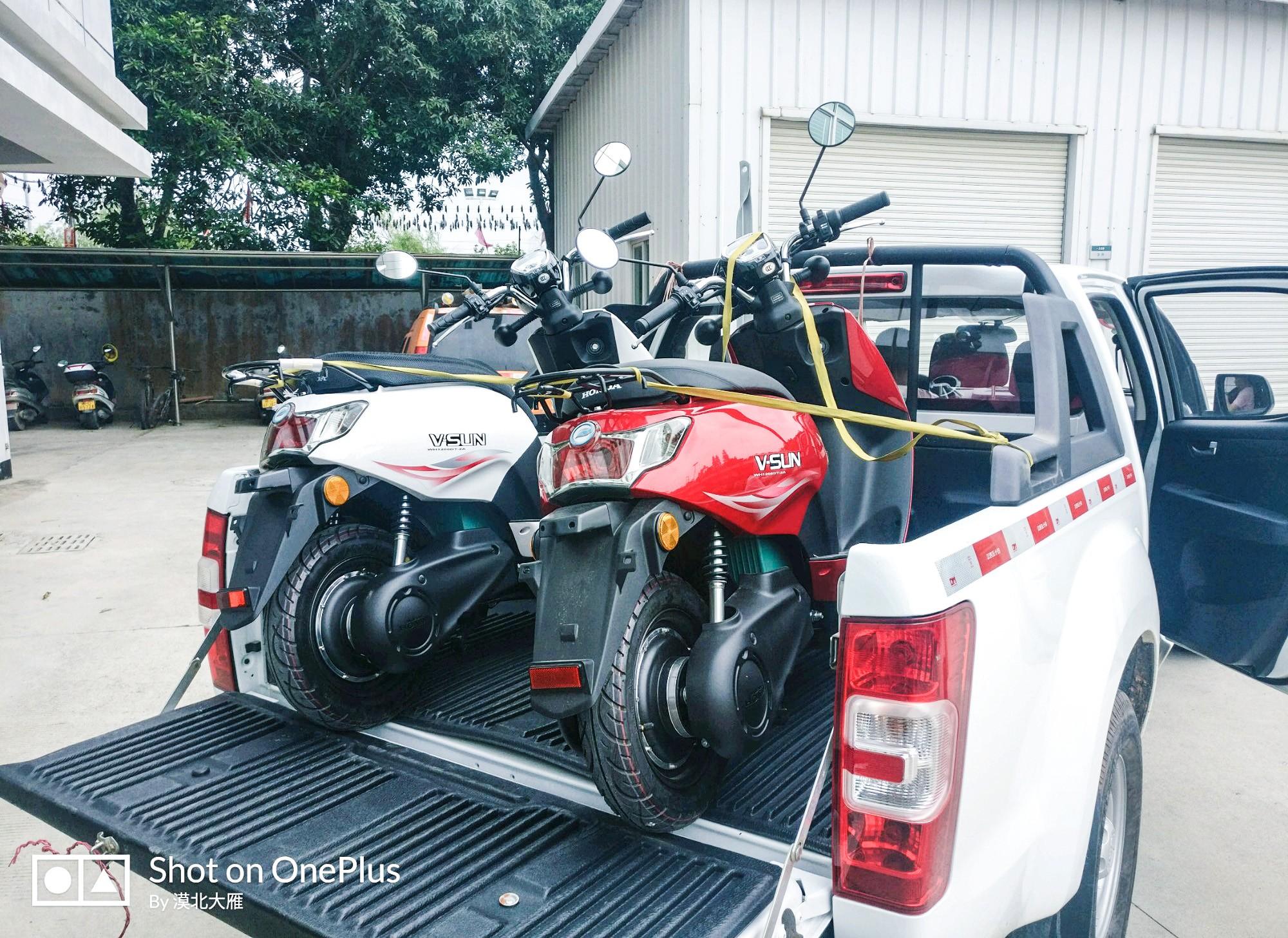 第一次买电动摩托车,果然还是这
