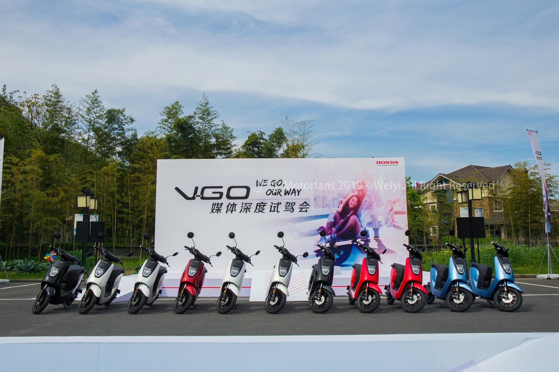 Honda V-GO电摩深度试驾评测