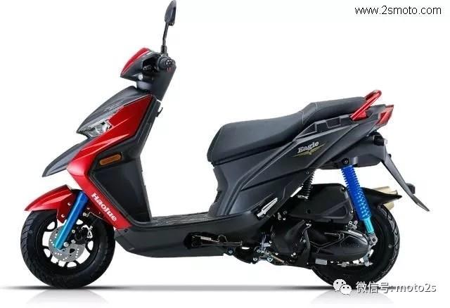 豪爵新款踏板Super Eagle售价1.098万,你会买账吗?