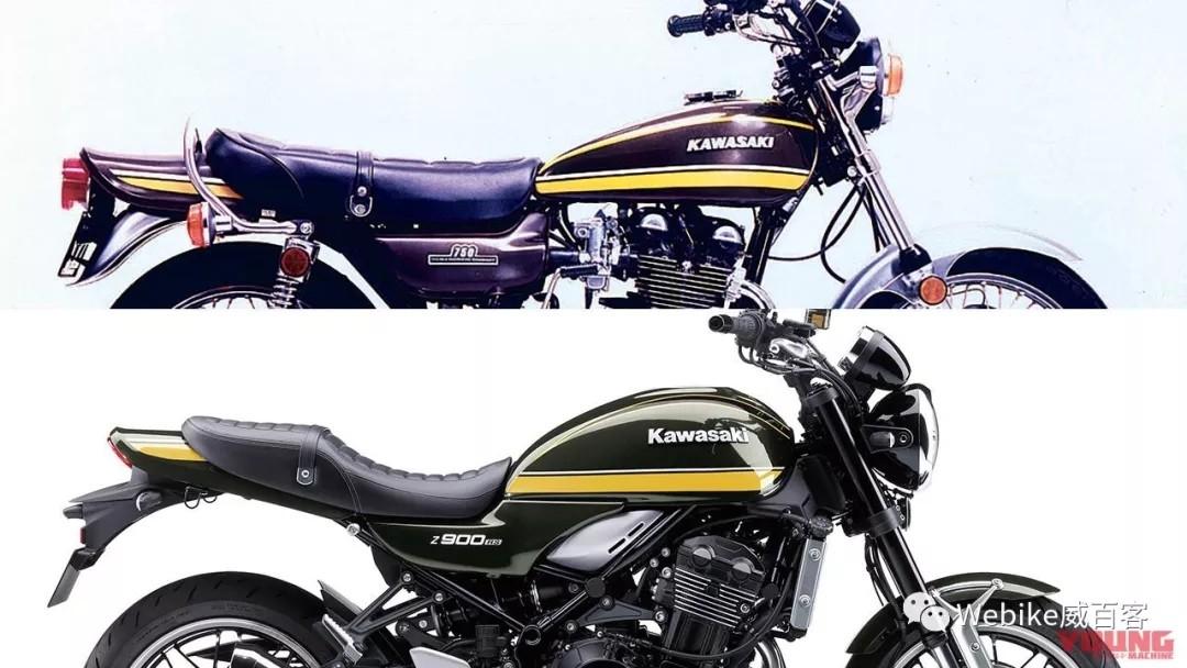 1974隽永老虎黄涂装回归,川崎 Z900 RS 2020款最新配色