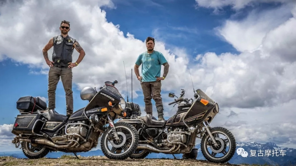 两兄弟骑着40岁的金翼砸了ADV的场子!