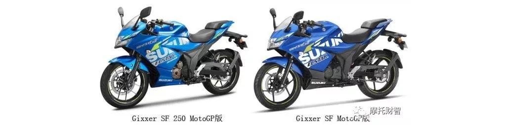 1.7万铃木Gixxer SF 250印度Motogp版花上市,国内摩友馋哭了!