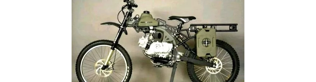 摩托自行车重量50千克,三个油箱续航805公里,油耗仅为1.2L