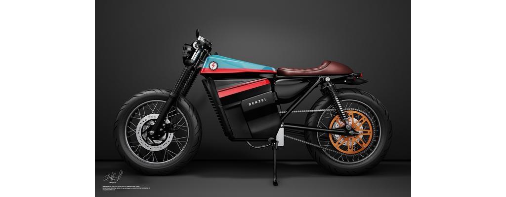 经典与现代的融合摩托赛车