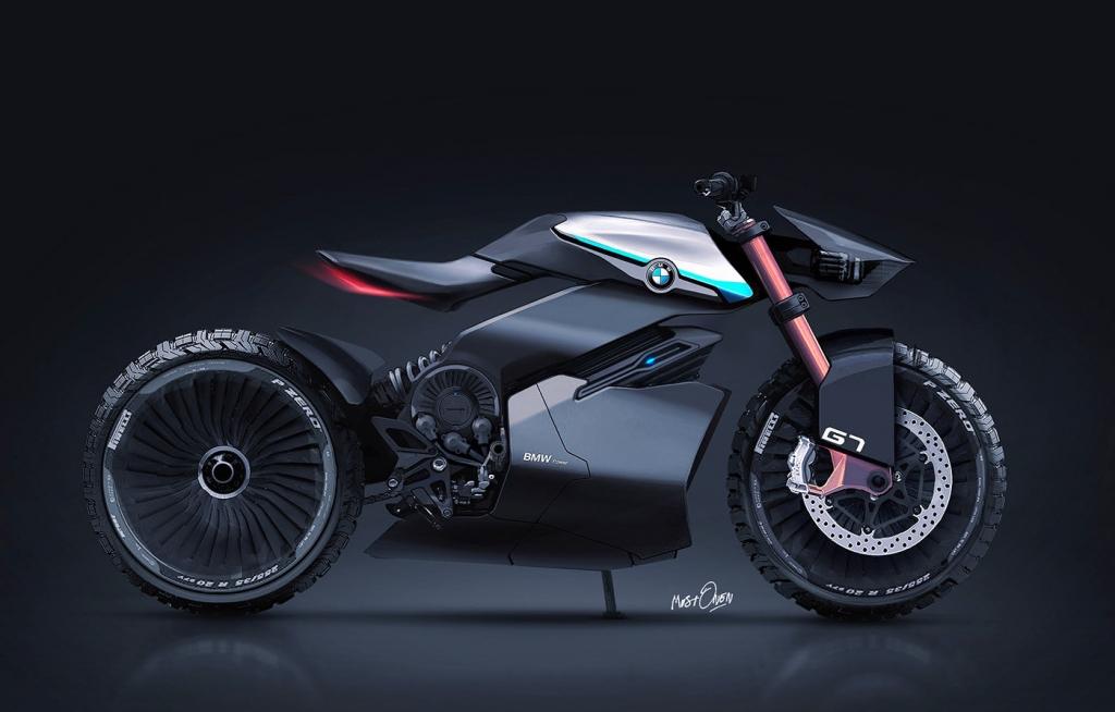 宝马G7概念摩托车设计