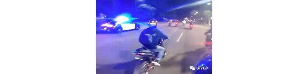 第一视角太刺激!直升机午夜追捕街头飙车党,最后结果你想不到。