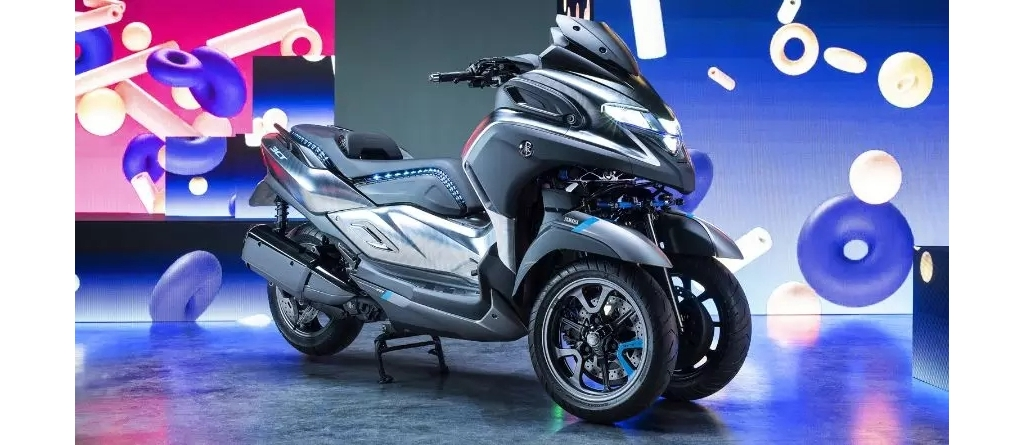 YAMAHA Tricity 300东京登场!同场发表全新三轮概念车MW-VISION