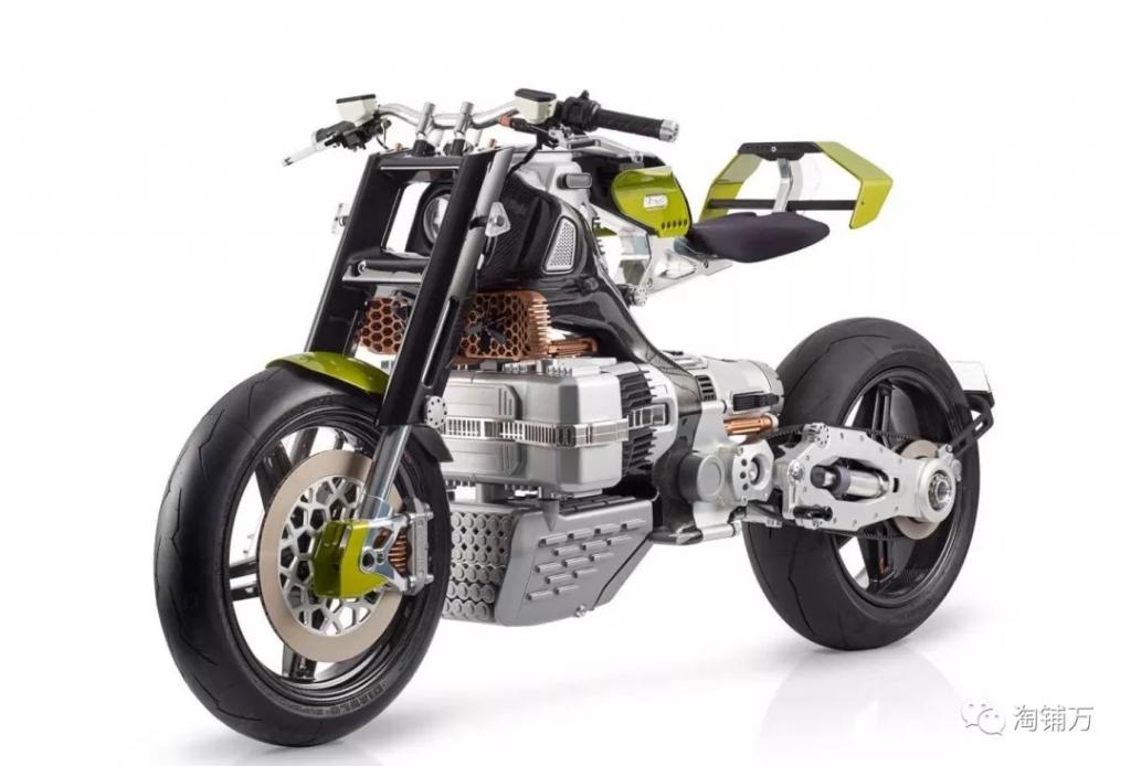 """""""来自外星的设计""""BST Hypertek电动摩托车"""