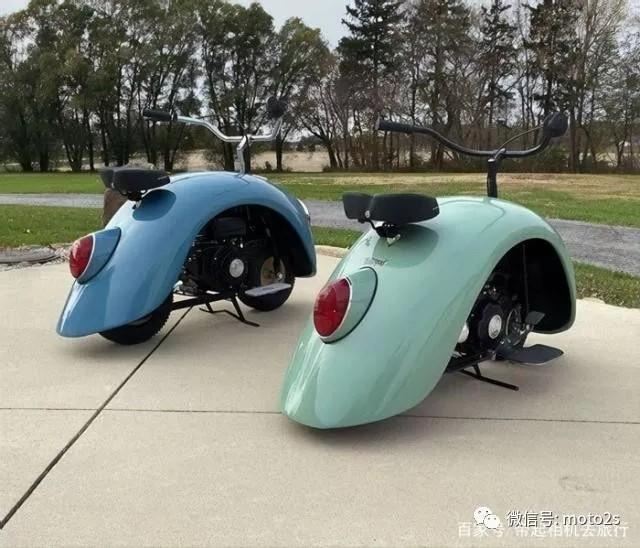 向大众甲壳虫致敬,男子用甲壳虫汽车改装了两辆万博Bet车
