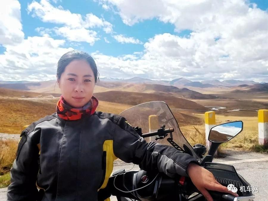巾帼女骑,一个人骑行五万公里