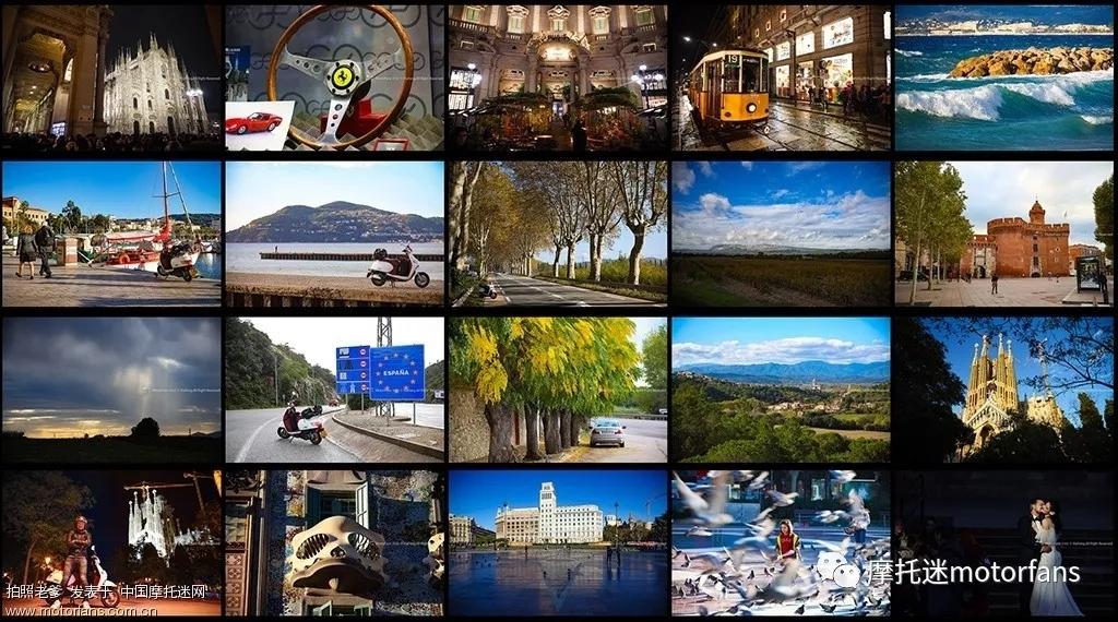 小摩托穿越意大利-法国-西班牙 2019拍照老爹五羊-本田塔帕Tapas 行记