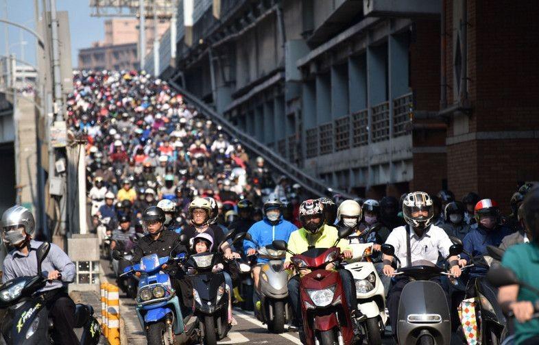 调查:台湾摩托族平均每次通勤时间为32分钟