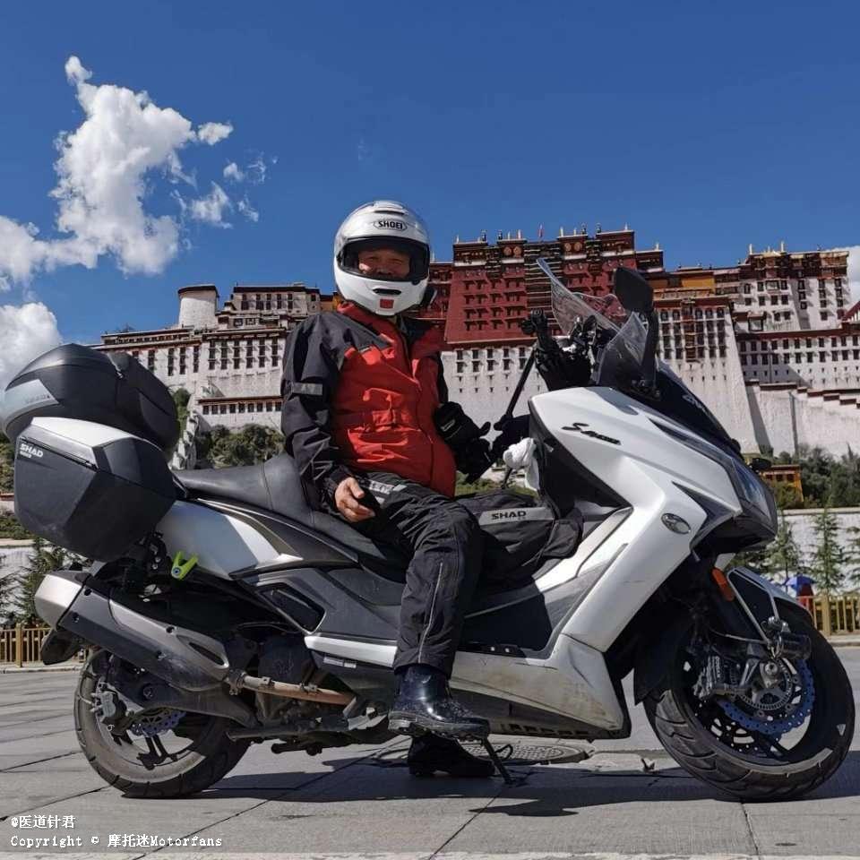 光阳赛艇400摩旅之驾白龙马闯西藏