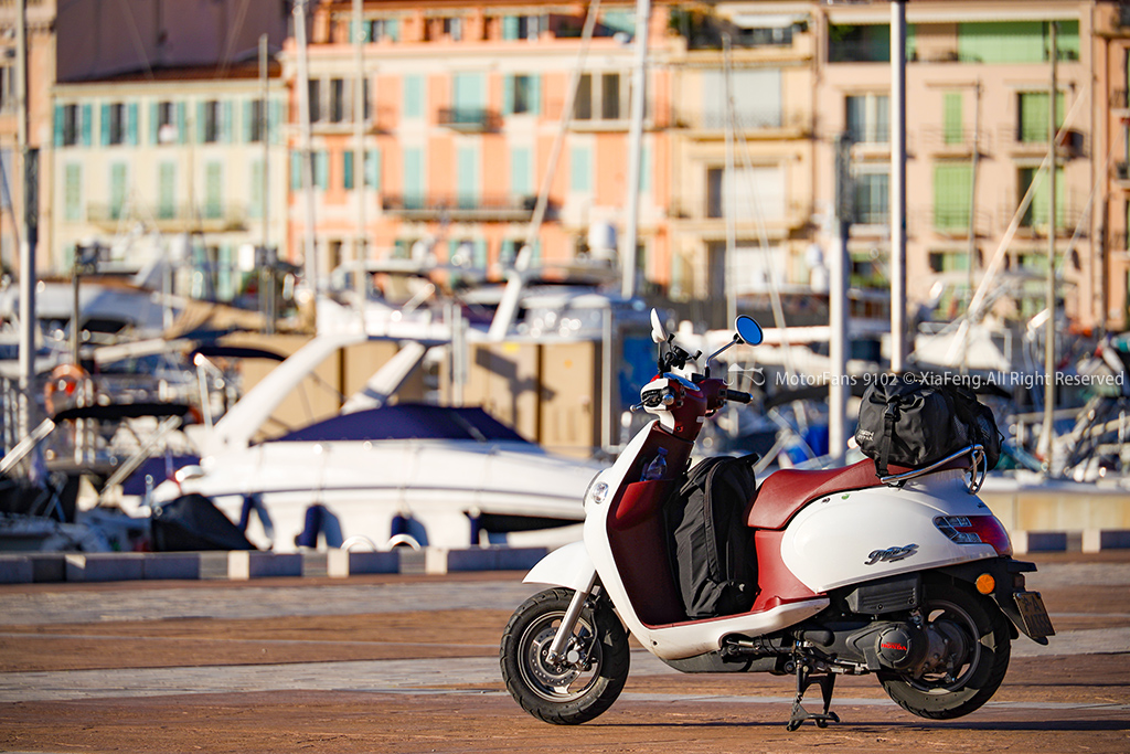 小摩托穿越意大利-法国-西班牙 2019拍照老