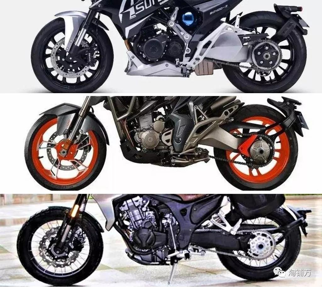 后摇臂之殇!国产摩托车常见后平叉形式你喜欢哪种