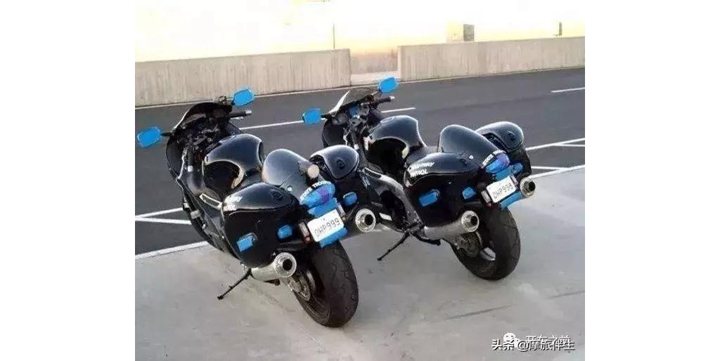 各国都用什么摩托车做警车?迪拜最壕、美国霸气、中国呢?