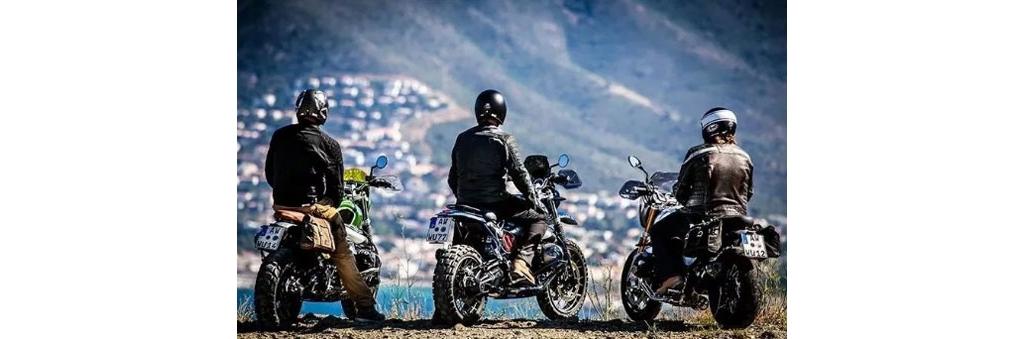 骑摩托车竟然有这么多好处