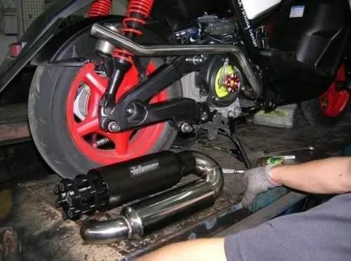 摩托车排气管的声音,为什么比汽车还大?明