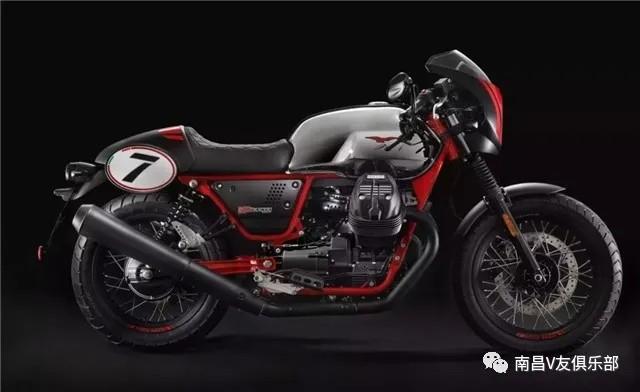 129900,摩托古茲V7 III RACER 10周年版發布!