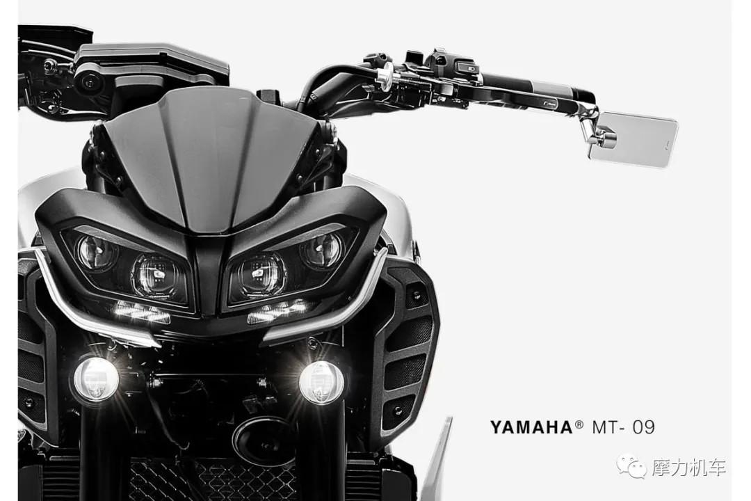 雅马哈MT09 全车改装套件上身