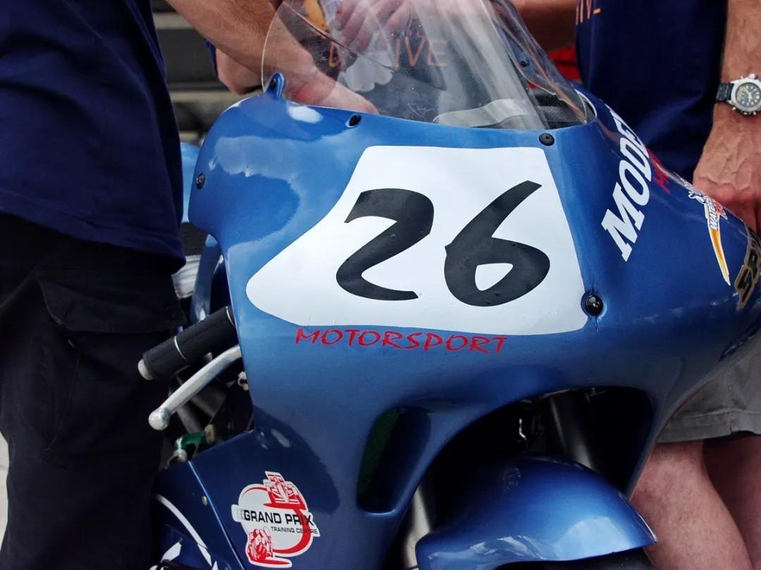 老照片、新感悟:Modenas GP125,当今天成为明天的历史