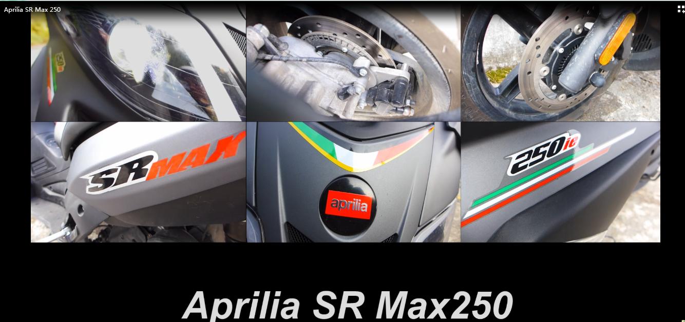 视频|Aprilia SR Max 250南寻记