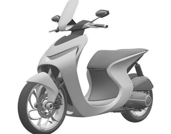 本田超级幼兽复古踏板设计图曝光...