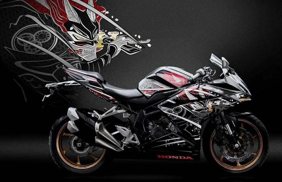 """印尼本田发布CBR250RR""""武士""""纪念版,和风涂装、配置更高"""