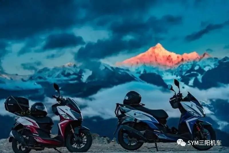 摩旅西藏   摩旅也是一种修行-三阳公益摩旅